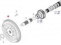 Торсионный демпфер — ACV0117090