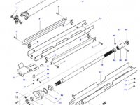 Карданный вал привода переднего моста трактора Massey Ferguson — ACW0143160