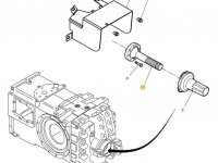 Хвостовик вала отбора мощности (ВОМ) трактора Massey Ferguson — ACW1655680