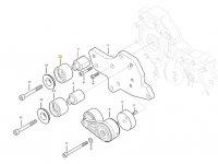 Натяжной ролик ремня двигателя трактора Massey Ferguson — ACW2337150