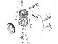 Воздушный компрессор двигателя трактора Massey Ferguson — ACW2874760