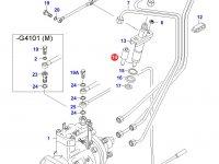Распылитель топливной форсунки двигателя Sisu Diesel — 836339985