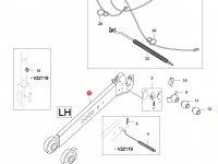 Правая тяга навески трактора (L=940) — 35471420