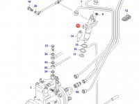 Форсунка двигателя Sisu Diesel — 836340034