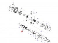 Комплект фрикционных дисков дифференциала моста — 36697300