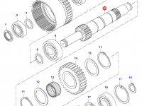 Вал полного привода КПП — 35153900
