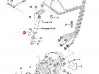 Распылитель топливной форсунки двигателя Sisu Diesel — 836854792