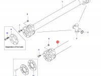 Карданный вал трактора L=1508 — 33770000