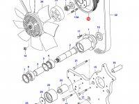 Шкив водяного насоса двигателя Sisu Diesel — 836866620