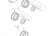 Передний колесный диск - W8x36(LP, **) — 34583500