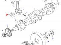 Вкладыши шатунные двигателя Sisu Diesel — 836336302