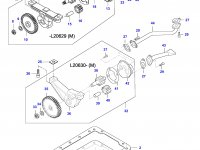 Масляный насос двигателя Sisu Diesel — 836652602