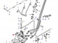 Топливный насос высокого давления (ТНВД) двигателя Sisu Diesel — 836854679