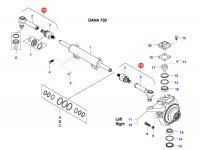 Рулевая тяга трактора — 37947700