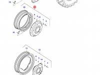 Задний колесный диск - DW20Ax38 (GKN) — 37004500