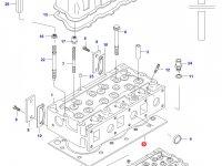 Прокладка ГБЦ двигателя Sisu Diesel — 836664155