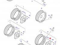 Вставка заднего колесного диска трактора — 33221200
