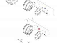 Вставка переднего колесного диска трактора — 35970000