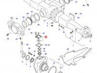 Верхний шкворень трактора — 31792500