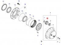 Планетарная (сателлитная) шестерня — 36097400