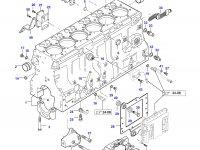 Гильза цилиндра двигателя Sisu Diesel — 836666990