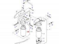 Топливный фильтр (тонкой очистки) двигателя Sisu Diesel — 836862602