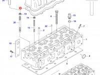Прокладка клапанной крышки двигателя Sisu Diesel — 836746362