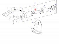 Воздушный фильтр двигателя Sisu Diesel (малый) — 836862574