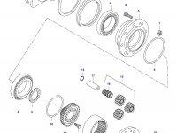 Солнечная шестерня редуктора моста — 31804200