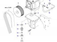 Воздушный компрессор трактора Valtra — 835331587