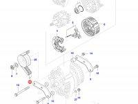 Ремень генератора двигателя Sisu Diesel — 684121375