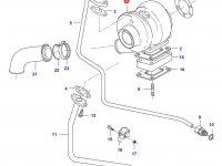 Турбокомпрессор двигателя Sisu Diesel — 836866584