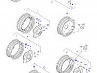 Вставка заднего колесного диска трактора (NAGBOL) — 30308220