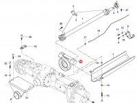 Передний суппорт переднего моста трактора — 33667900