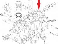 Блок двигателя Sisu Diesel — 836866592