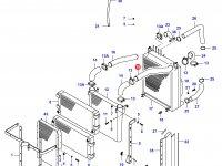 Патрубок интеркулера двигателя Sisu Diesel — 34040300