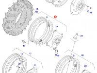 Задний колесный диск - W11x36 — 30541130(30541140)