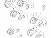 Передний колесный диск - W18x28(50km/h) — 34647110