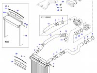 Воздушный фильтр двигателя Sisu Diesel (малый) — 36539700