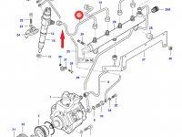 Топливная трубка первого цилиндра двигателя Sisu Diesel — 837070299