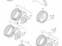 Задний колесный диск - DW14x38 (GKN) — 33129600