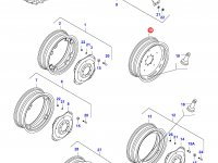 Задний колесный диск - DW14x34 (*) — 35632000