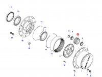 Планетарная (сателлитная) шестерня — 36247500