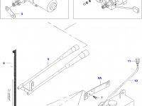 Моторчик щетки стеклоочистителя трактора — 30301300