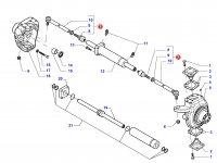 Рулевая тяга трактора в сборе — 34055700