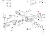 Чулок переднего моста трактора(правый) — 34989900