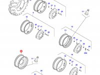 Передний колесный диск - W15Lx28(*, Offset 35mm) — 33304500