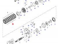 Диск фрикционный муфта 4WD — 35031000