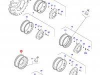 Передний колесный диск - DW15Lx28(DANA 730 MONOL) — 35646300