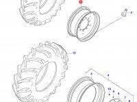 Задний колесный диск - DW23Ax38 (KINT.) — 34234700